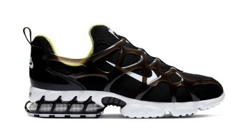 Stussy x Nike Air Zoom Kukini Black/White-Volt