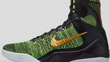 Nike Kobe 9 Elite Black/Volt-Anthracite-Metallic Gold