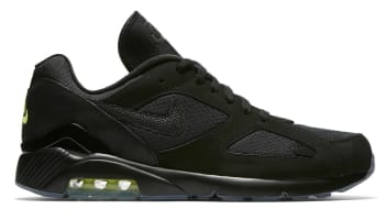 Nike Air Max 180 Black/Black-Volt