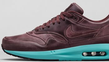 Nike Air Max Lunar1 Leather Mahogany/Mahogany-Island Green