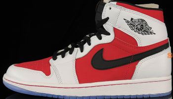 Air Jordan 1 Retro High OG White/Black-Carmine