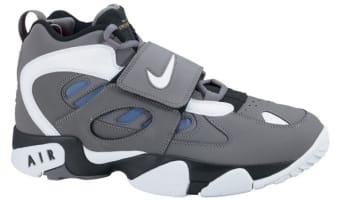 Nike Air Diamond Turf II Cool Grey/White-Soar-Black
