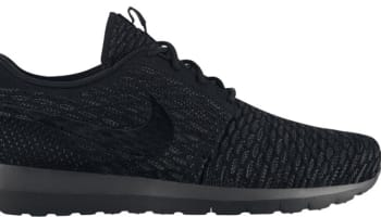 Nike Roshe Run Flyknit Black/Black-Midnight Fog