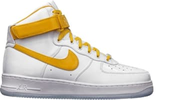 Nike Air Force 1 High CMFT Premium QS White/University Gold-Court Purple