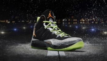 Jordan Super.Fly 2 Black/Total Orange-Reflect Silver