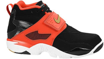 Nike Air Diamond Turf Black/Metallic Gold-Gamma Orange