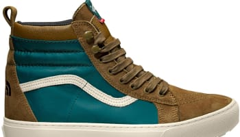 The North Face x Vans Vault Sk8-Hi Teal