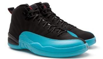 Air Jordan 12 Retro Black/Gym Red-Gamma Blue