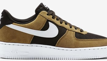 Nike Air Force 1 Low Golden Tan/White-Velvet Brown