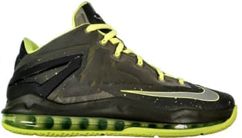 Nike LeBron 11 Low Medium Khaki/Medium Khaki-Volt-Medium Olive
