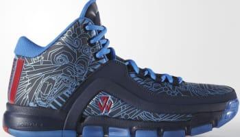 adidas J Wall 2 College Navy/Vivid Red-Shock Blue
