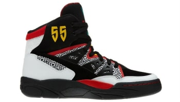 adidas Mutombo White/Black-Light Scarlet-Ray Yellow-Blast Emerald