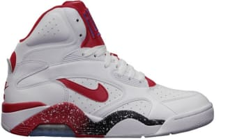 Nike Air Force 180 Mid White/Hyper Red-Photo Blue