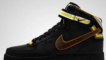 Nike Air Force 1 Mid Supreme RT Black/Baroque Brown