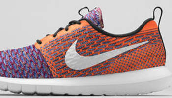 Nike Roshe Run Flyknit White/Multi-Color