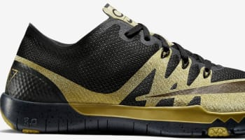 Nike Free Trainer 3.0 V3 CR7 Black/Gold-Black