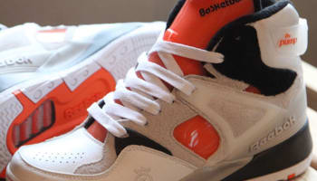 Reebok The Pump Certified White/Black-GID-Solar Orange