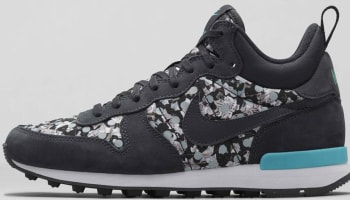 Nike Internationalist Mid Liberty Women's Dark Ash/Silver Wing-Dark Ash