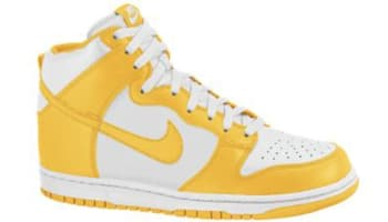 Nike Dunk High Sail/Varsity Maize