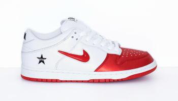 Supreme x Nike SB Dunk Low Varsity Red/Varsity Red-White-Black