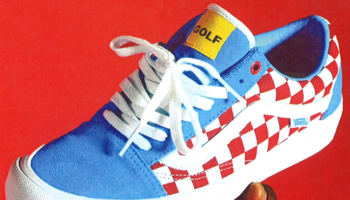 Vans Syndicate Old Skool Blue/White-Red