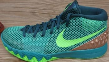Nike Kyrie 1 Teal/Green Strike-Radiant Emerald-Metallic Red Bronze