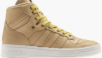 adidas Originals Rivalry Hi Natural/White