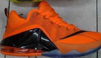 Nike LeBron 12 Low Bright Citrus/White-Total Orange-Soar