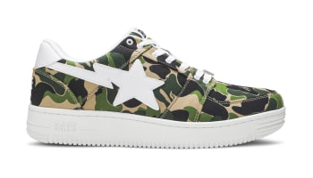 A Bathing Ape Bapesta Low