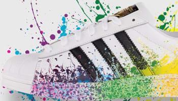 adidas Originals Superstar White/Black-Multi-Color