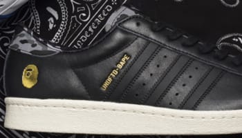 adidas Consortium Superstar 80s Black/Gold-Grey Camo