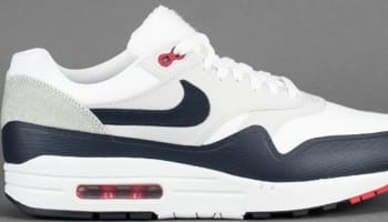 Nike Air Max 1 V SP White/University Red-Obsidian