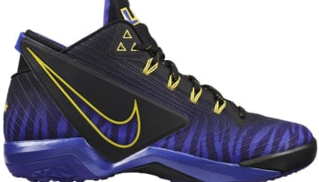 low priced 4d5c9 45d2d Nike Zoom Field General Black Persian Violet-Tour Yellow