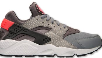 Nike Air Huarache Premium Cool Grey/Black-Medium Ash-Hyper Punch