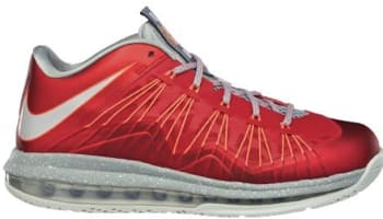 Nike LeBron X Low University Red