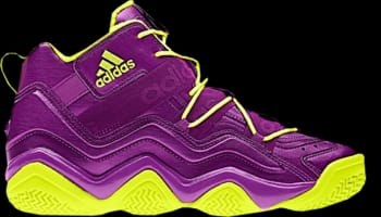 adidas Top Ten 2000 Ultra Purple/Ultra Purple-Electric Yellow