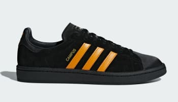 Adidas Campus x Porter Core Black/Bright Orange-Core Black