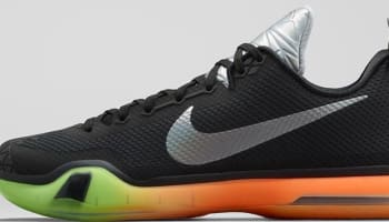 Nike Kobe X AS Black/Multi-Color-Volt