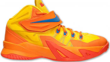 Nike Zoom Soldier VIII GS Tour Yellow/Hyper Cobalt-Copper Flash