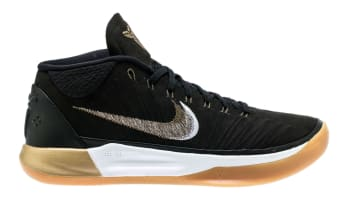 Nike Kobe A.D. Mid Black/Metallic Gold-Anthracite-Light Gum Brown