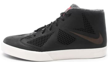 Nike LeBron X NSW Lifestyle LE Black/Black-Sail-University Red