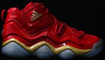 adidas Top Ten 2000 Power Red/Gold Metallic-Grey