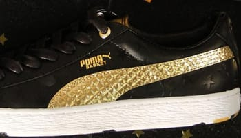 Puma Basket Black/Gold