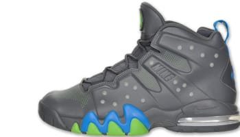 Nike Air Max Barkley Dark Grey/Dark Grey-Photo Blue-Action Green