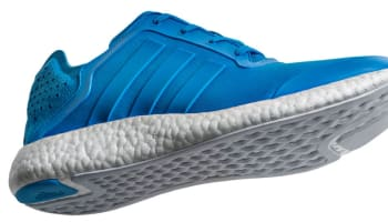 adidas Pure Boost Solar Blue/Solar Blue-Clear Grey