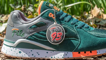 Fila Overpass Green/Dark Grey-Orange