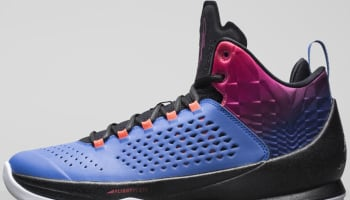 Jordan Melo M11 Game Royal/Black-Total Crimson-Bright Magenta-White
