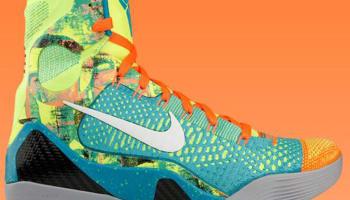 Nike Kobe 9 Elite Sport Turquoise/White-Volt-Total Orange