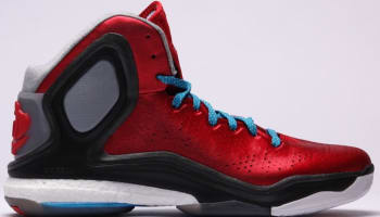 adidas D Rose 5 Boost Scarlet/Solar Blue-Core Black