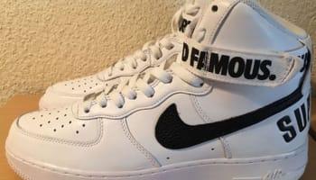 Nike Air Force 1 High Supreme SP White/Black